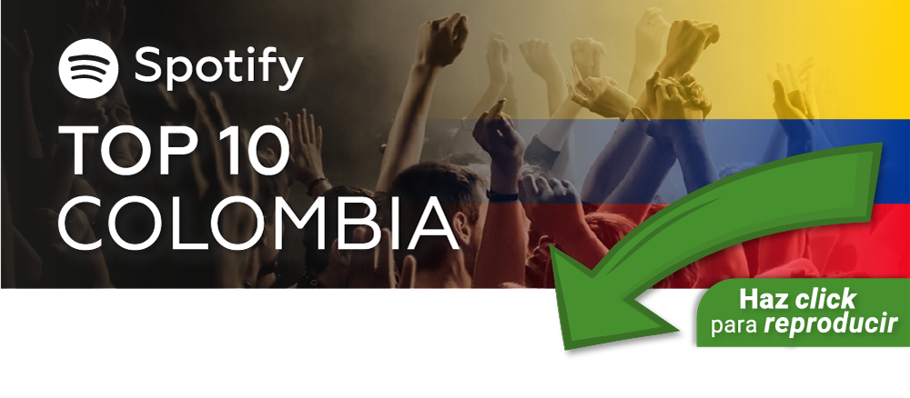Banner Spotify T10 Colombia ESP